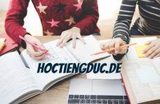 Trật tự của tính từ trong tiếng Đức
