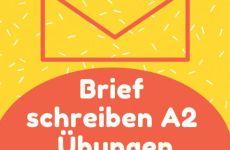 Tổng hợp các bài viết mẫu A2 tiếng Đức