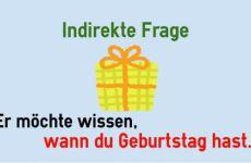Câu hỏi gián tiếp trong tiếng Đức được dùng như thế nào?