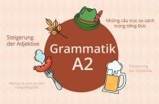 Các cấu trúc so sánh của tính từ trong tiếng Đức: Nhất định phải nhớ!